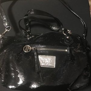 Limited Edition Coach Poppy Sequin Satchel